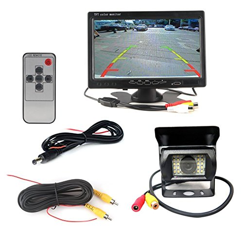 Vehicle Waterproof Monitor Parking Assistance