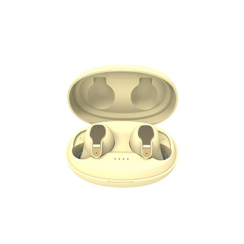 BOOMdan Wireless Earbuds Bluetooth Earbud Bluetooth in-Ear Sports Headphones【24Hrs Charging Case】 3D Stereo IPX5 Waterproof Pop-ups Auto Pairing Fast Charging
