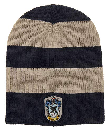 4c14c33c3b6 Amazon.com  elope Harry Potter Ravenclaw Slouch Beanie for Women ...