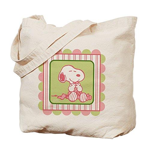 CafePress bolsa - Snoopy - manta de color rosa bolsa para herramientas de