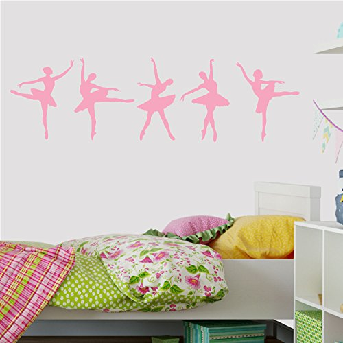Decal the Walls Ballerina Dancers