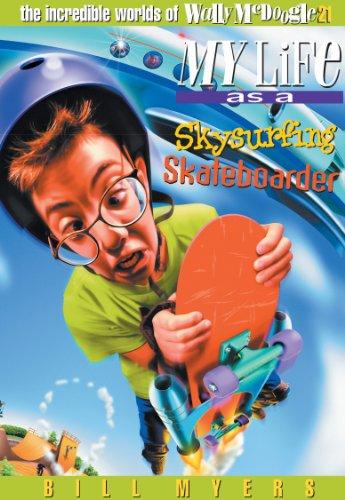 Sky Surfing Skateboarder