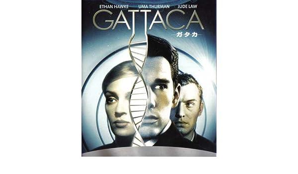 Póster de película 11 x 17 Gattaca japonés - 28 cm x 44 cm ...