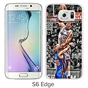 Personalization LA Clippers Blake Griffin 1 White Case For Samsung Galaxy S6 Edge Phone Case Cool Design