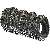 SunF Set of 4 A047 All Terrain Trail ATV UTV Tires 28x10-14, 8 Ply