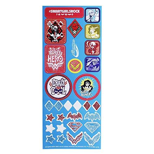 Patins Super Herogirls 28-29 Harley Quinn Branco/Vermelho/Azul
