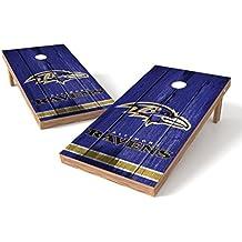 PROLINE NFL 2'x4' Cornhole Board Set with Bluetooth Speakers - Vintage Design
