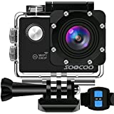 Action Camera Underwater Cam WiFi 1080P Full HD, SOOCOO 12MP Waterproof Sports Camera 170 Degree Wide Angle Diving Camera 30m 2'' LCD /2.4G Remote Control/2x1350mAh Batteries &17 Mounting Accessory Kit