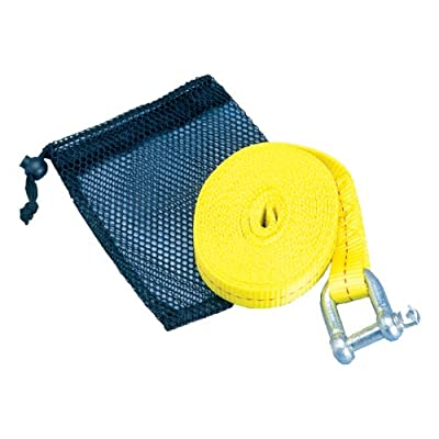 ATV Tow Strap with Shackle & Mesh Bag: Sports & Outdoors