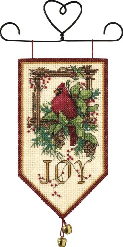 counted cross stitch joy mini
