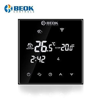 Beok TGT70WIFI-EP Termostato Digital Programable Para Calefacción ...