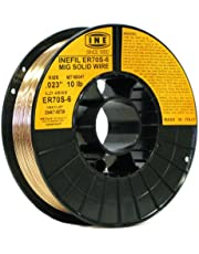 INE ER70S-6 .023-Inch on 10-Pound Spool Carbon Steel Mig Solid Welding Wire