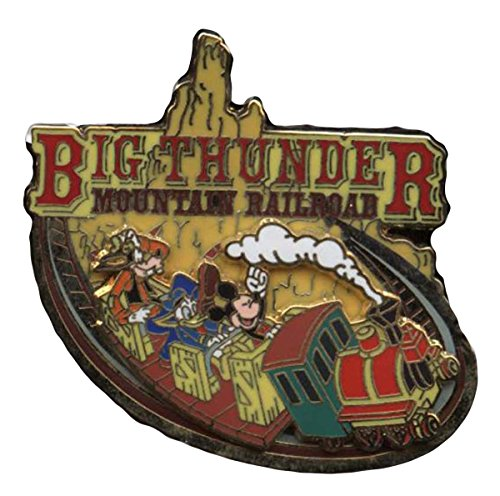 Disney Pin #43664: Big Thunder Mountain Railroad - Logo