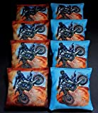 OFF ROAD DIRT MOTOR CROSS BIKE RACER 8 ACA Regulation Cornhole Bean Bags B210