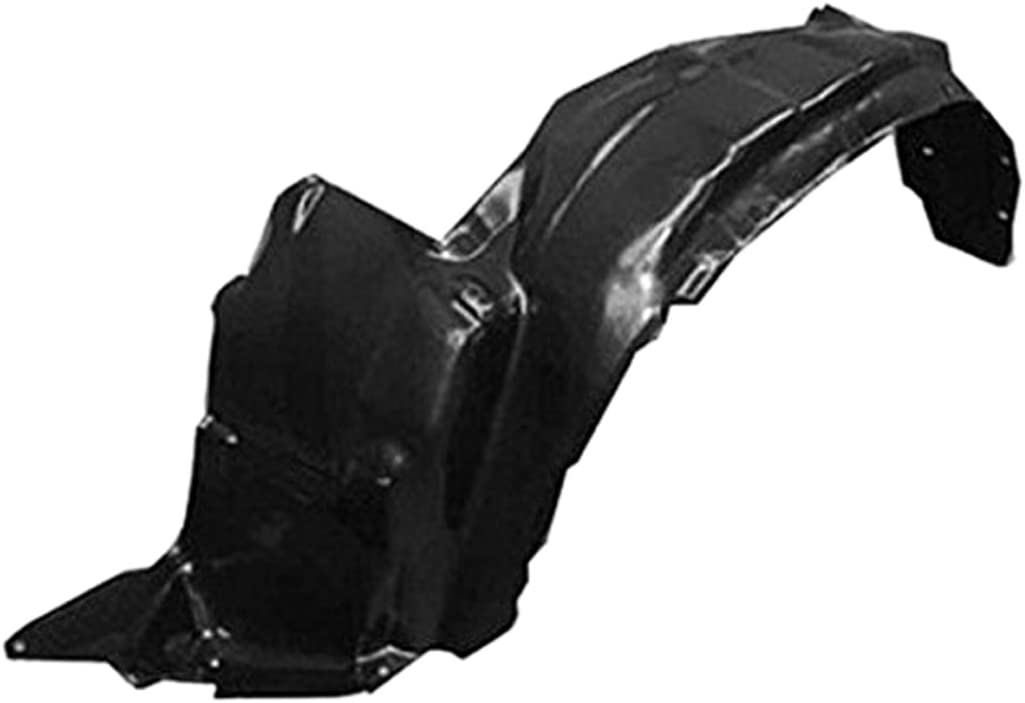 Partslink Number TO1249127 OE Replacement Toyota Sequoia//Tundra Front Passenger Side Fender Inner Panel