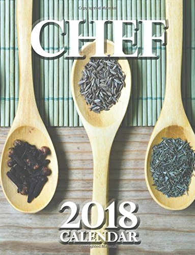 Chef 2018 Calendar (UK Edition)