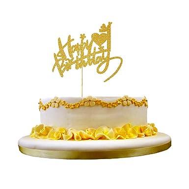 NN-BH decoración de cumpleaños, 1 año de cumpleaños pastel ...