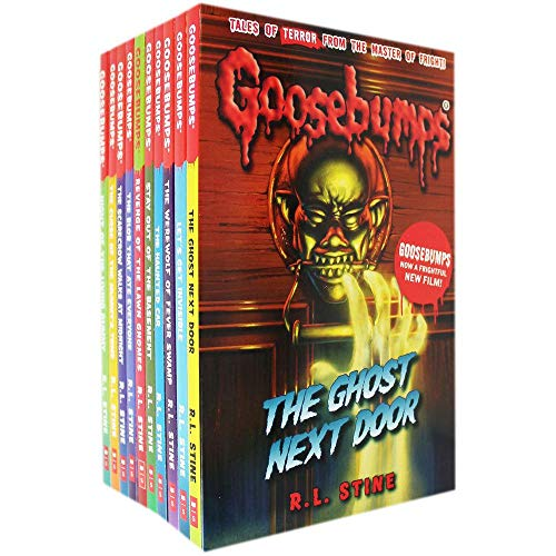 Goosebumps Series 10 Books Collection Set (Classic Covers) Series 1 [Paperback] R.L. STINE (Goosebumps Collectibles)