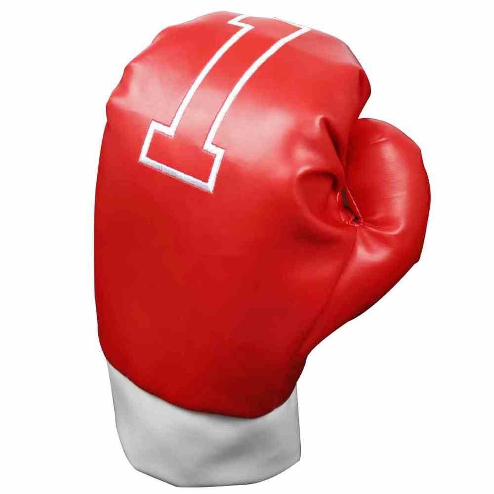 LONGRIDGE Guante de Boxeo Longride Madera Cubierta de la Cabeza - Rojo WCANOBG