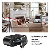 ZDMYING Spy Hidden Camera, HD 1080P Alarm Clock