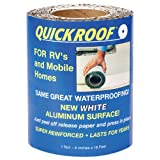 "Cofair Products WQR625 6"" X 25' White Quick Roof Tape"