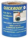 Cofair WQR625 Quick Roof Pro Aluminum White 6'' x 25'