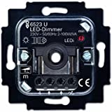 Busch-Jaeger 6523 U 102 - Regulador de intensidad, dimmer LED