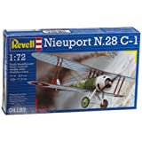 Nieuport 28 C1 WWI Biplane 1-72 Revell Germany