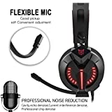 Xbox-One-Headset-Onikuma-W-Series-PS4-Headset-Gaming-Headset-with-LED-light-and-Microphone-for-Xbox-PS4-PC-Computer-Laptop-Tablet-Smartphone-and-Other-35MM-Jack-Devices