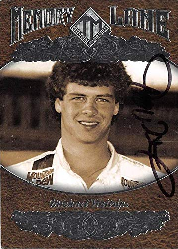 Michael Waltrip Racing Driver - Michael Waltrip autographed trading card (NASCAR Driver, Auto Racing) 2012 Press Pass Memory Lane #ML8
