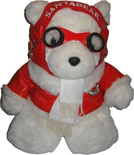 Vintage 1987 Dayton-Hudson's Santa Bear Exclusive Christmas Pilot Teddy Bear Toy