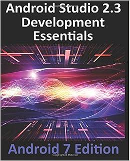 Book Android Studio 2.3 Development Essentials - Android 7 Edition