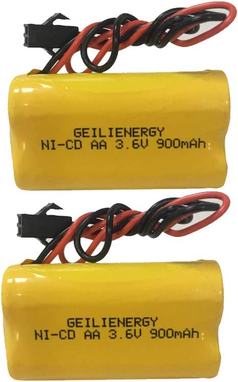 Lithonia EU2 LED Ni-CD Battery Replacement for Emergency Exit Light