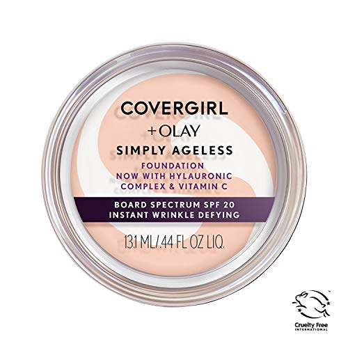 Halloween Makeup Tired Eyes (Covergirl & Olay Simply Ageless Instant Wrinkle-Defying Foundation,)