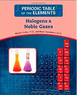 halogens and noble gases periodic table of the elements