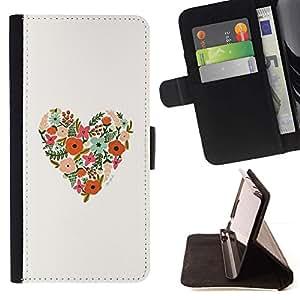 Momo Phone Case / Flip Funda de Cuero Case Cover - Spring Love Valentines Blanca - Sony Xperia Z2 D6502