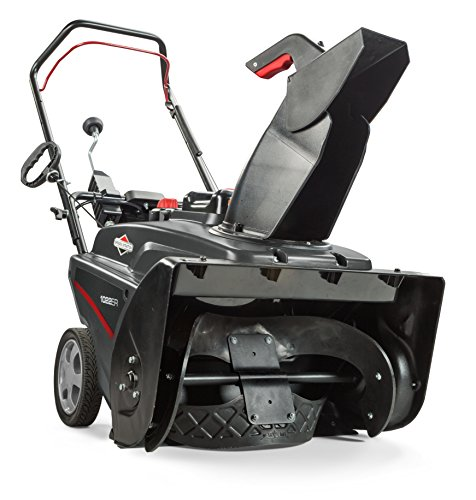Snow Thrower Snow (Briggs & Stratton 1022ER Single Stage Snowthrower Snow Thrower, 208cc)