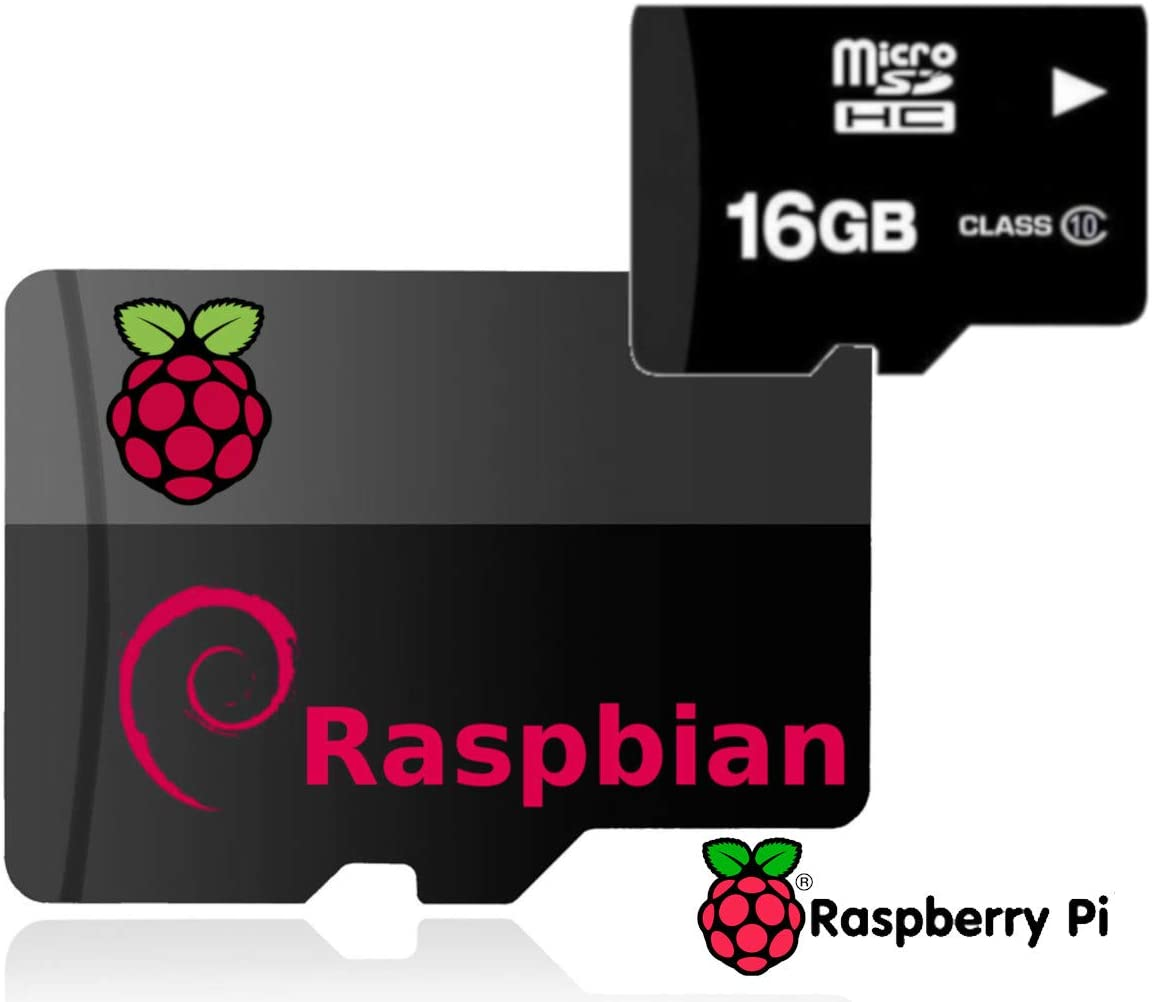 Raspberry Pi 3 B+ B Plus 16GB SD Card with Opearting System Black Case 3pc Heatsinks 5V 2.5A On//Off Power Supply HDMI Cable- Plug N Play Ultimate Starter Kit- Includes Raspberry Pi Motherboard