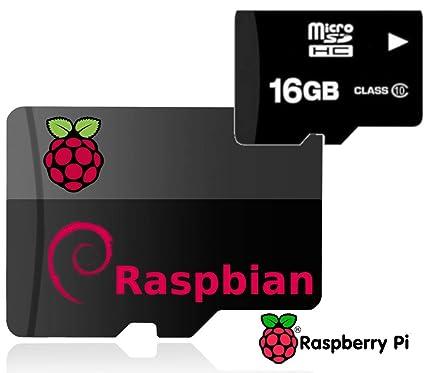 16GB Raspberry Pi Noobs Preloaded Micro SD Card, Class 10, Works with Pi 4 Model B, Pi 3 Model B+ (Plus), Model B, Pi 3 Model A+, Pi2, Zero | ...
