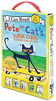 Pete the Cat's Super Cool Reading Collection