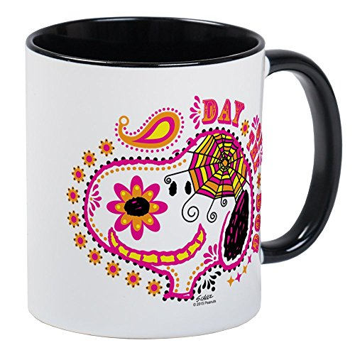 CafePress Day Of The Dog Snoopy Face Mug Unique Coffee Mug, Coffee Cup -