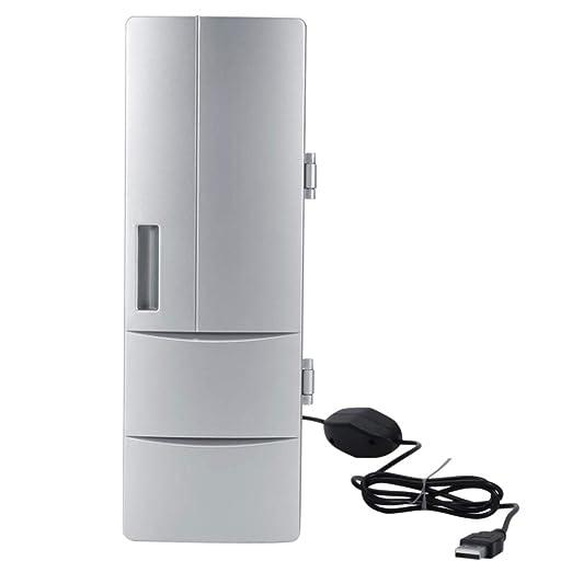 HAINAN Mini portátil portátil Nevera PC Refrigerador Bebidas ...