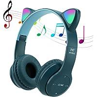 POTIKA Fone De Ouvido Bluetooth 5.0 Sem Fio, Fone De Ouvido Lindo Em Forma De Orelha De Gato, Cancelamento De Ruídos…