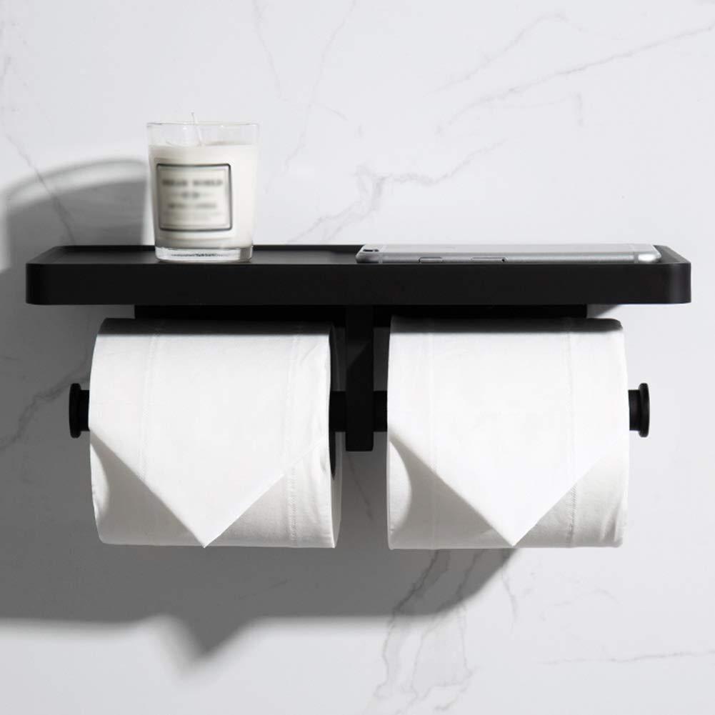 29.5x13x2cm Creative Bathroom Shelf Bathroom Rack Over Toilet Chrome Black Shelf Rust for Bathroom with Towel Rack