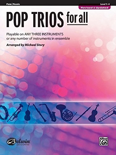 Pop Instrumental Ensembles (Pop Trios for All: Flute, Piccolo (Instrumental Ensembles for All))
