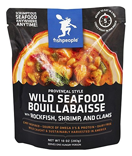 Fishpeople Wild Seafood Bouillabaisse, 10 Ounce (Fish Dinner)