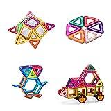 Magnetic Construction Toys Building Blocks Educational Toys, Construction Building Tiles for Toddlers - 66PCS