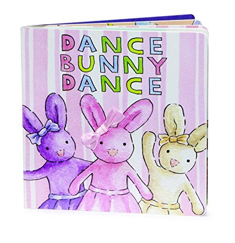 Jellycat Board Books, Dance Bunny Dance – 6 inches