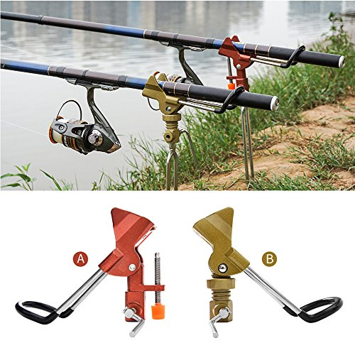 (Fishing Ground Rod Holder Bracket Practical Detachable Bank Fishing Support Stainless Steel Outdoor Angle Pole Fishing Ground Stand Holder)