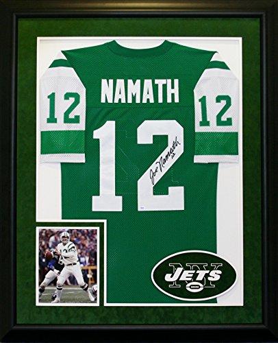 1439 Joe Namath Autographed & Framed Jersey